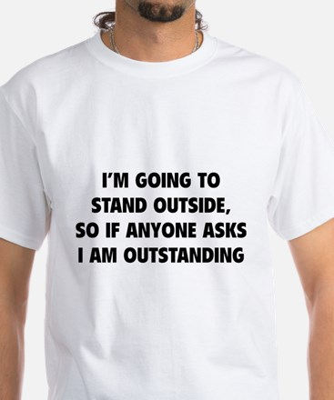 I Am Outstanding White T-Shirt