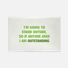 I Am Outstanding Rectangle Magnet (100 pack)