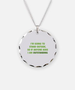 I Am Outstanding Necklace