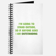 I Am Outstanding Journal