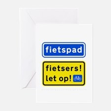 fietspadFietsers Greeting Cards (Pk of 10)