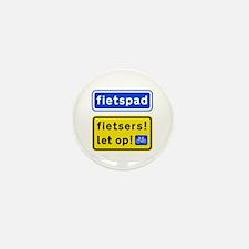 fietspadFietsers Mini Button (10 pack)