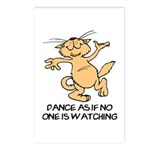 Dancing Cat Postcards (Package of 8)