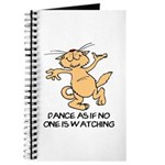 Dancing Cat Journal