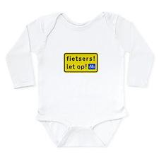 fietsers Long Sleeve Infant Bodysuit