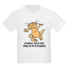 Dancing Cat Kids T-Shirt
