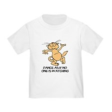 Dancing Cat Toddler T-Shirt