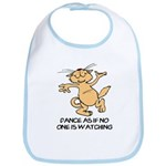 Dancing Cat Bib
