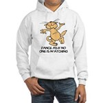 Dancing Cat Hooded Sweatshirt