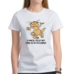 Dancing Cat Women's T-Shirt