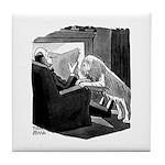 SHAGGY DOG Tile Coaster