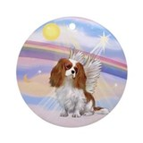 Cavalier king charles spaniel Round Ornaments