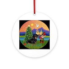 Fantasy Land - Dachshund (BT) Ornament (Round)