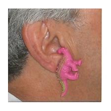 Dino Ear Tile Coaster