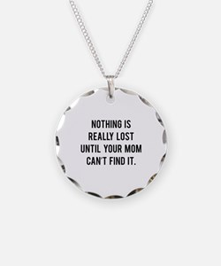 Nothing is really lost Necklace
