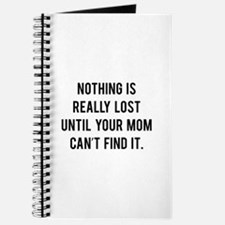 Nothing is really lost Journal