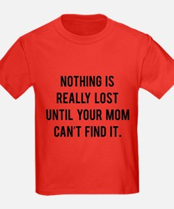 Nothing is really lost T