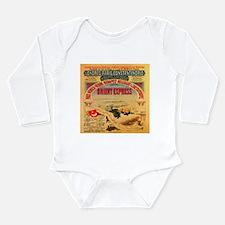 Unique Agatha christie Long Sleeve Infant Bodysuit