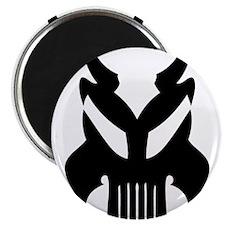 """Alien Face 2.25"""" Magnet (100 pack)"""