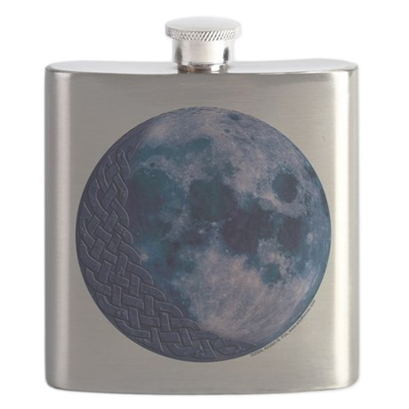 Celtic Blue Moon Flask