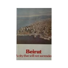 Save Beirut Rectangle Magnet