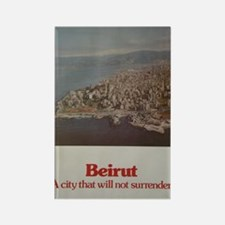Save Beirut Rectangle Magnet