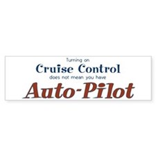 Cute Cruise control Bumper Sticker