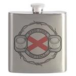 Alabama Softball Flask