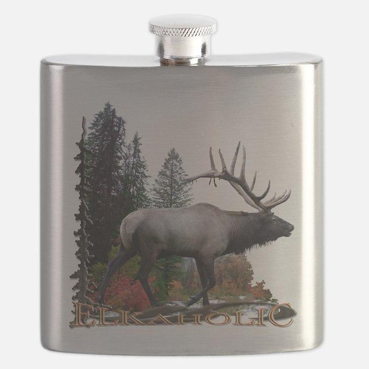 Elkaholic Flask