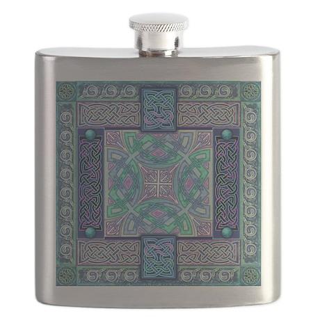 Celtic Atlantis Opal Flask