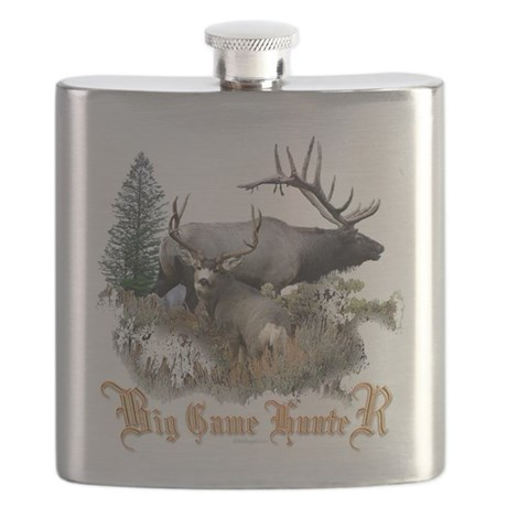 Big Game Hunter Flask