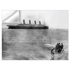 Last Picture of the Titanic, 11th April 1912 Wall Decal