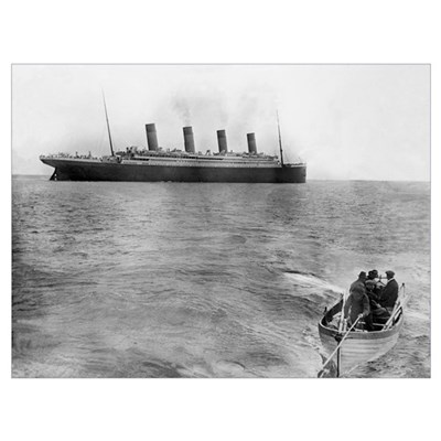 Last Picture of the Titanic, 11th April 1912 Poster