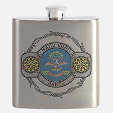 North Dakota Darts Flask