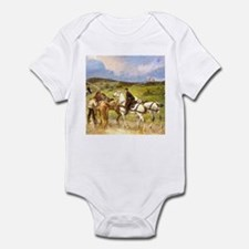 CHANGING HORSES Infant Creeper