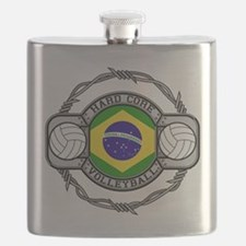 Brazil Volleyball Flask