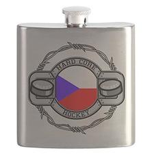 Czech Republic Hockey Flask