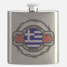 Greece Boxing Flask