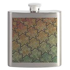 Celtic Leaf Tesselation Flask