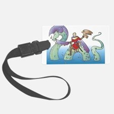 Prince and Serpent Luggage Tag