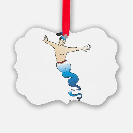 Genie Ornament