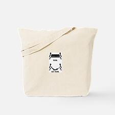 Friend Vs Best Friend. Tote Bag