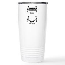 Friend Vs Best Friend. Travel Mug