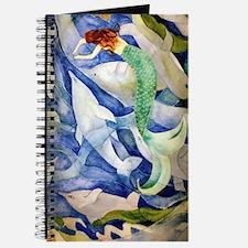 Cute Beach art mermaids Journal