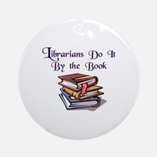by-the-boochambers-6x4-trimmed.png Ornament (Round