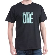 All Things Are ONE Black T-Shirt