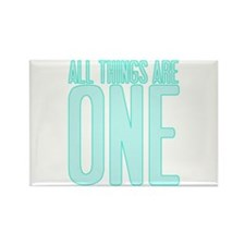 All Things Are ONE Rectangle Magnet