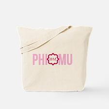 Phi Mu Letters Tote Bag