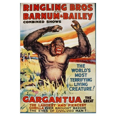 Ringling Brothers and Barnum and Bailey Combined S Canvas Art