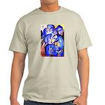 BLUE HORSES Ash Grey T-Shirt